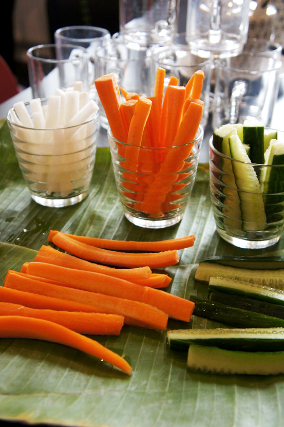 sunde snacks, gulerodsstænger