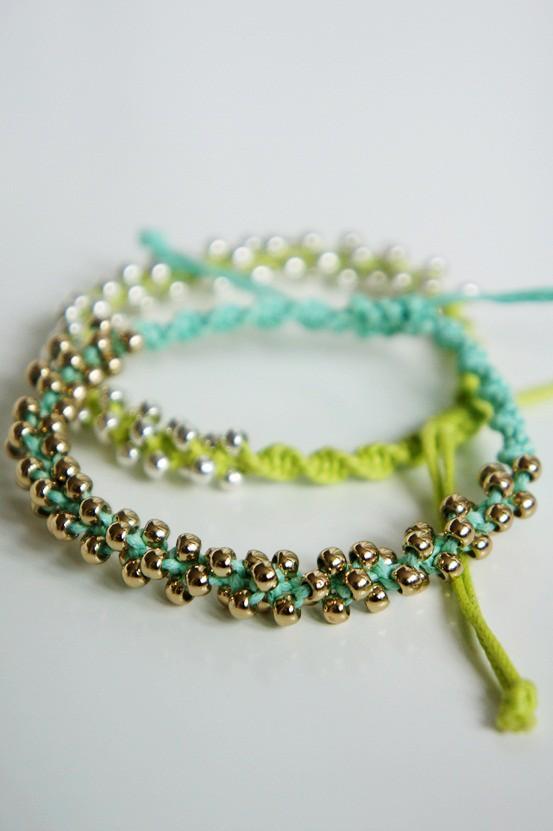 diy agtige armbånd hm, bracelets H&M
