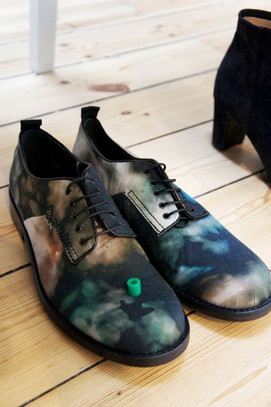 Cheap Monday aw12, Cheap Monday sko, Cheap Monday galaxy shoes, galaxy print sko