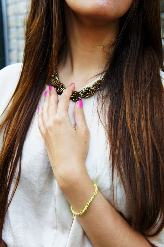 necklace h&M, halskæde hm