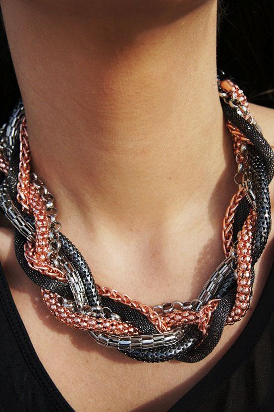 bik bok halskæde, stor halskæde, bik bok necklace