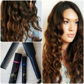 GHD Gold Max Styler, ghd Style Smooth and Finish Serum, ghd Style Curl Hold Spray, ghd carbon antistatic comb, GHD Børster Detangling Comb