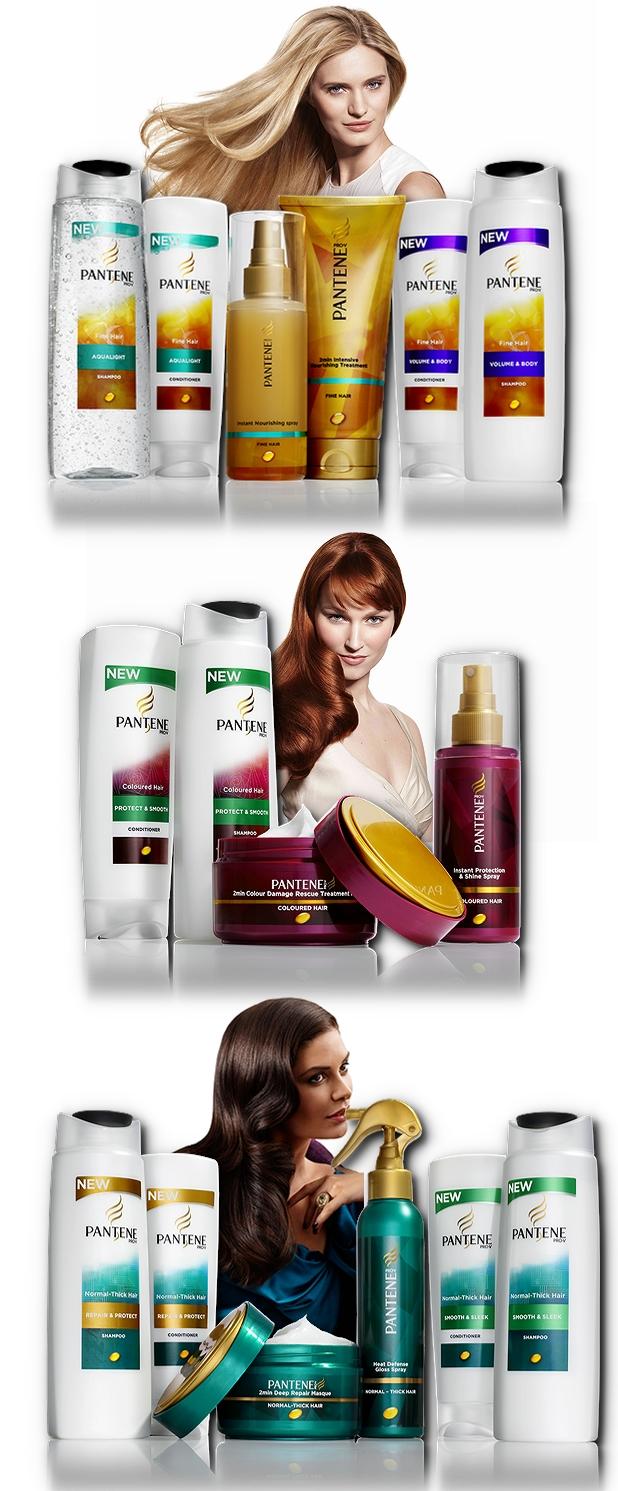 pantene, pantene hows your hair, nye pantene produkter