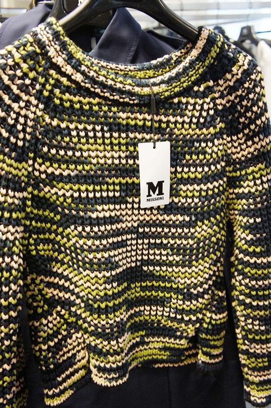 M Missoni AW12 sweater
