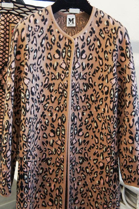 M Missoni AW12, M Missoni leopard jacket, M Missoni leopard jakke