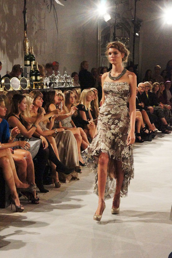 stasia blondekjole, lace dress