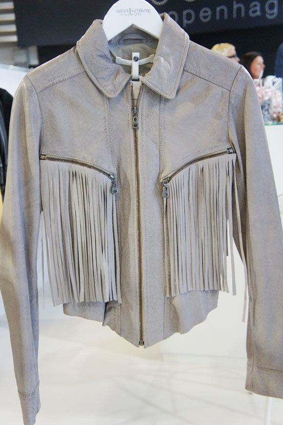 meinLiebling, meinLiebling læderjakke, læderjakke med frynser, leather jacket with fringes