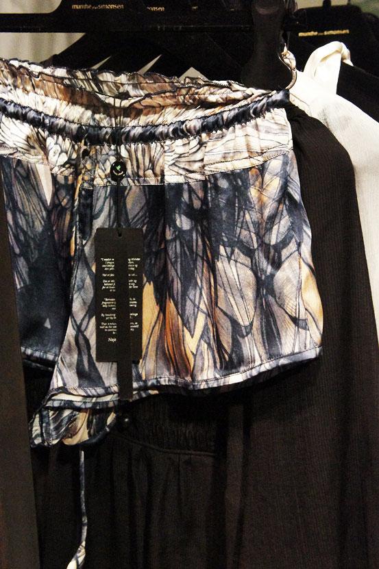 munthe plus simonsen ss13, munthe plus simonsen silke shorts, shorts med print, silky shorts