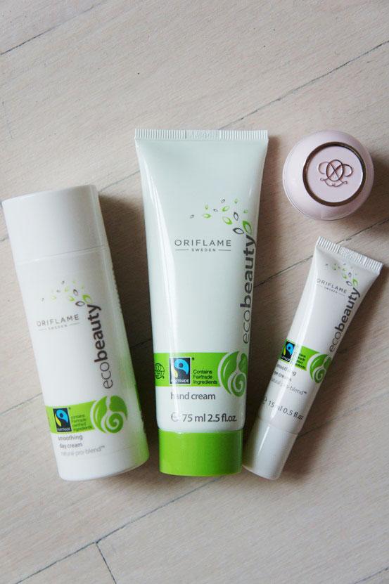 Oriflame Ecobeauty, Oriflame Ecobeauty Hand Cream , Oriflame Ecobeauty Smoothing Day Cream, Oriflame Ecobeauty Smoothing Eye Cream, oriflame Tender Care