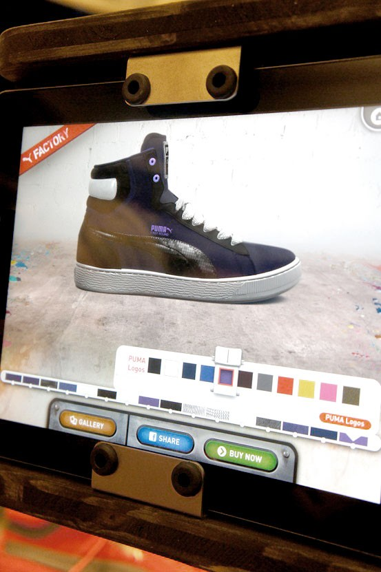 puma design your own shoe