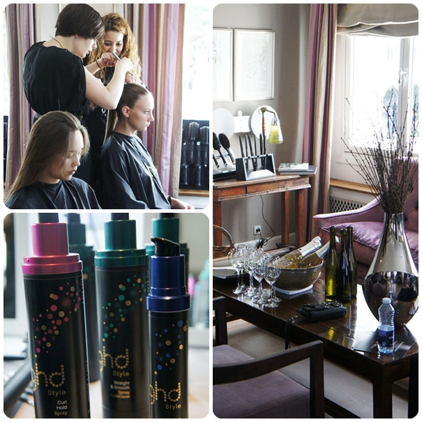 ghd styling lounge nimb, fashion week hair 2012