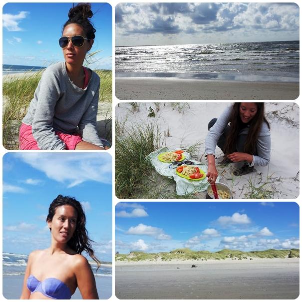 sommer, vesterhavet, telttur