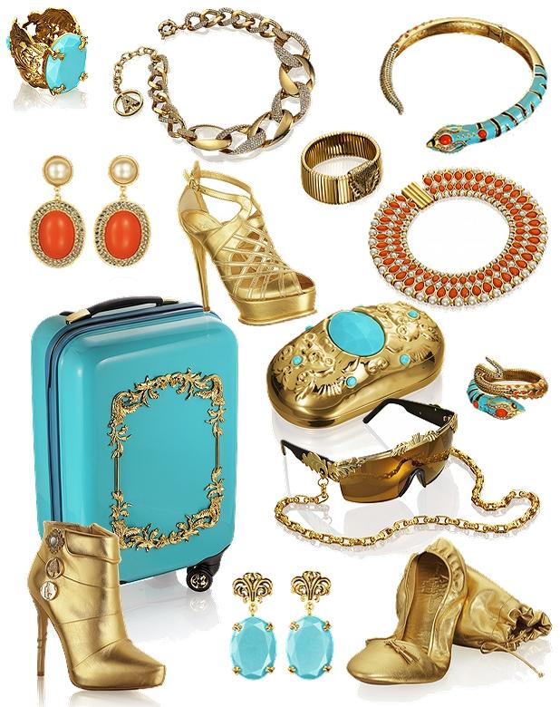 Anna Dello Russo for H&M, Anna Dello Russo jewelley H&M, hm Anna Dello Russo, turkis Anna Dello Russo hm smykker