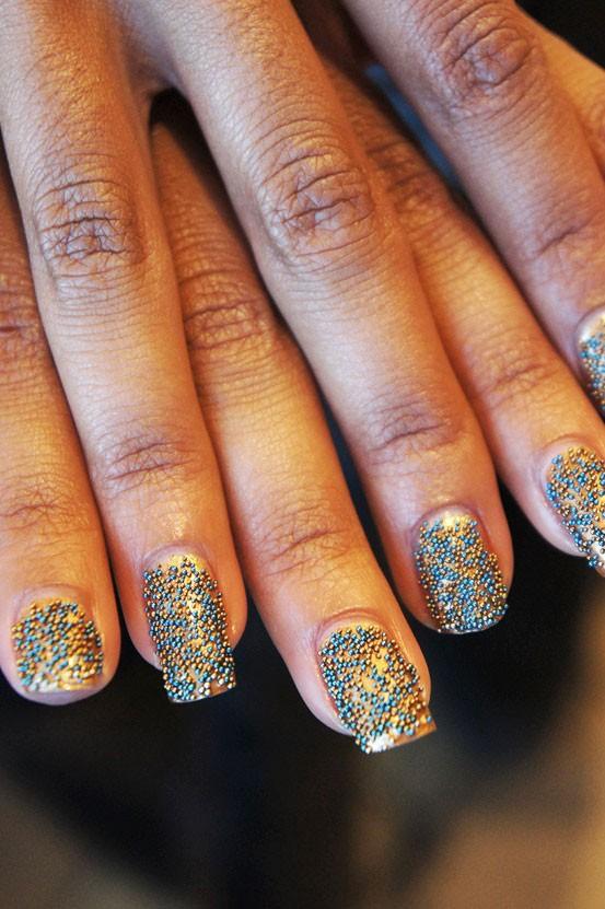 eva k, ciate caviar manicure, caviar manicure head turner