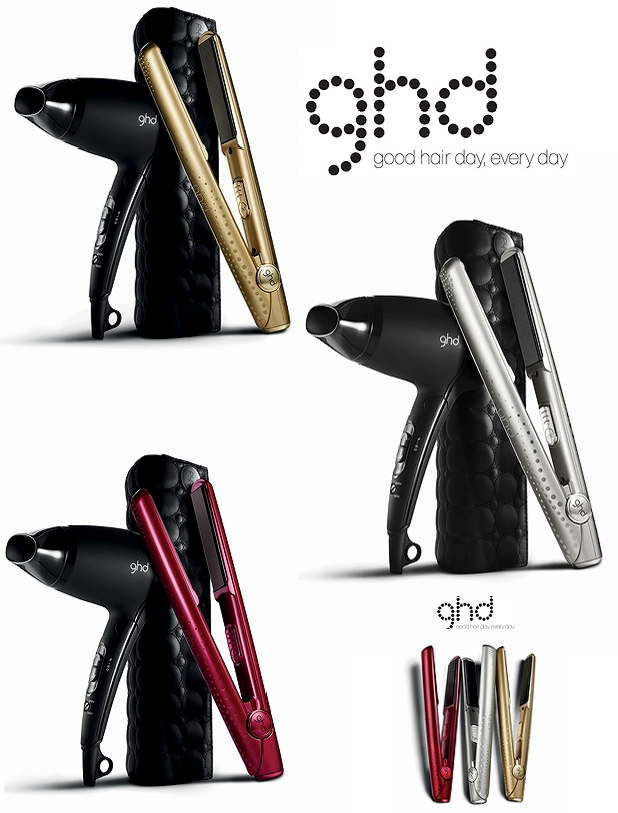 ghd styler, sølv gdh styler, guld ghd styler, rød ghd styler, vind gdh styler ghd metallic collection,  ghd limited edition gavesæt, silver ghd styler, golden ghd styler, metallisk ghd styler, ghd glattejernghd V Gold styler