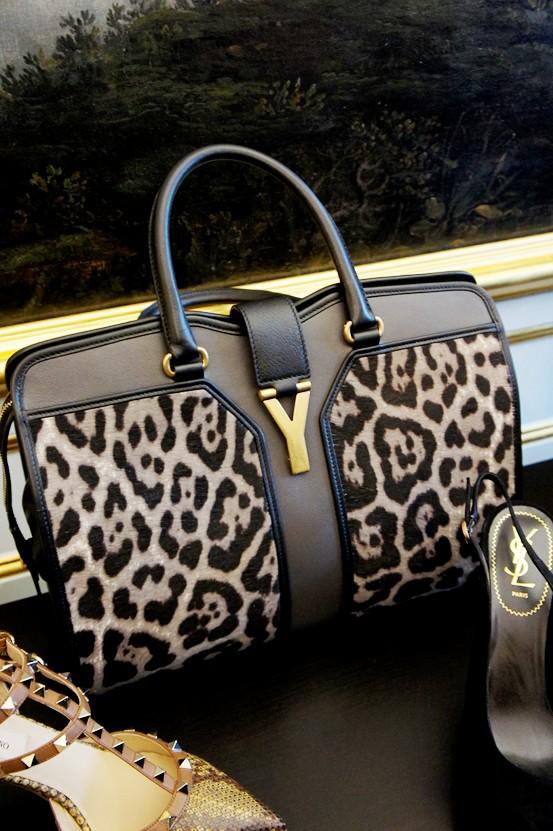 ysl leopard taske, ysl leopard bag