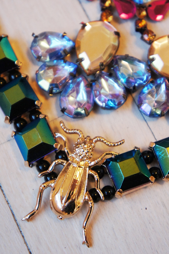 bille halskæde, store øreringe, beatle earrings, h&m smykker, hm jewellery