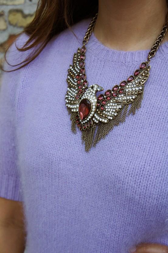zara eagle necklace, ørnehalskæde zara