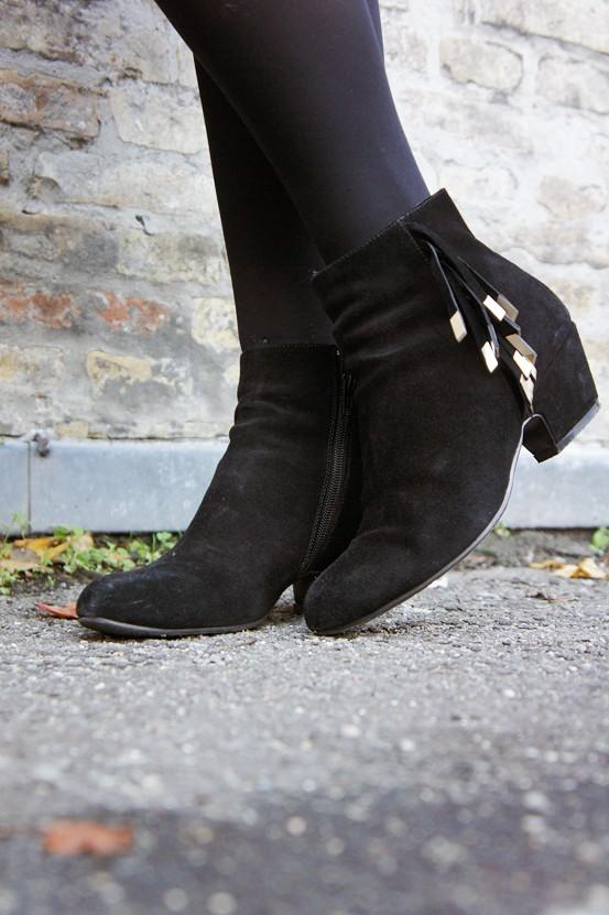 Aila ankle boot, gina tricot støvler, gina tricot boots, frynse støvler, fringe boots