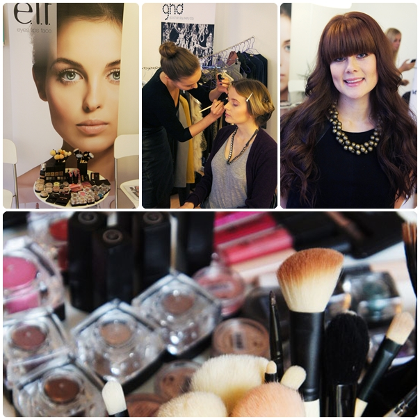 ladies night, elf cosmetics danmark, elf makeup event, starklint pr