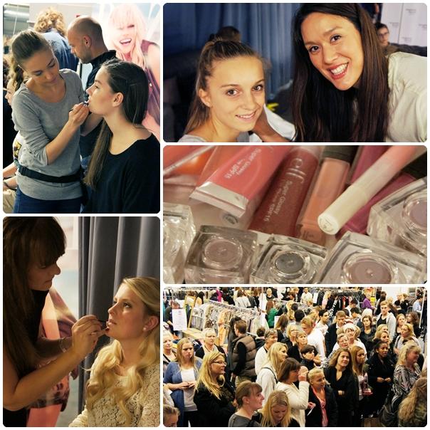 elf cosmetics makeover, designer forum oktober 2012, elf makeup, elf makeup artister