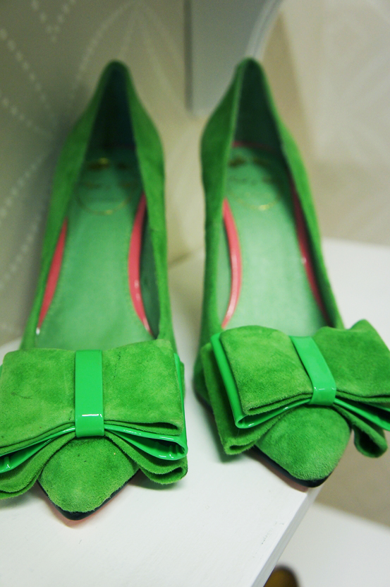 edith & ella grønne sko, green pumps, edith og ella høje hæle, high heels green, edith ella sko