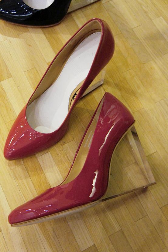 Maison Martin Margiela h&M, Maison Martin Margiela hm, Maison Martin Margiela H&M red shoes, Maison Martin Margiela H&M røde sko