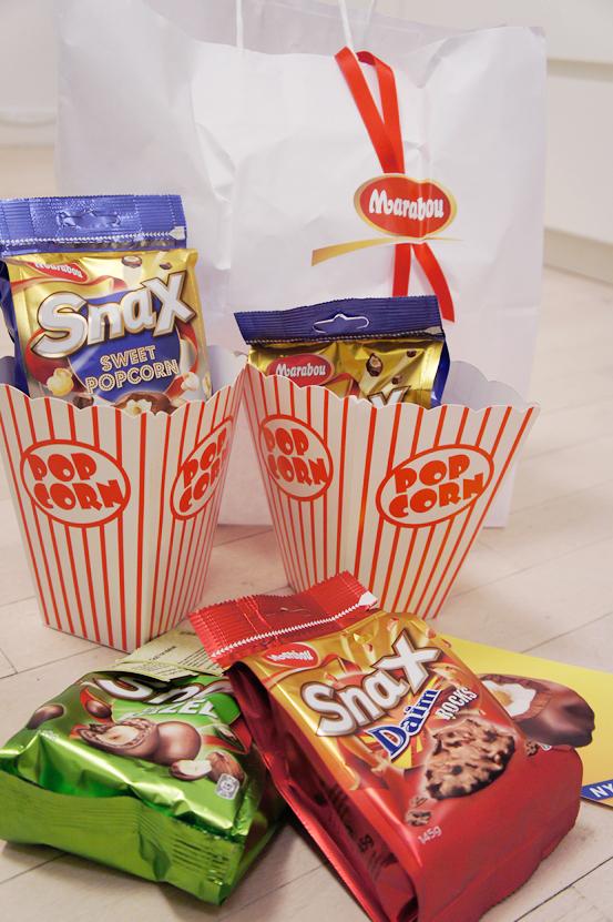marabou sweet popcorn, Marabou Snax Sweet Popcorn