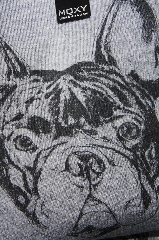fransk bulldog sweater, moxy copenhagen aw12, french bulldog sweater, bulldog print