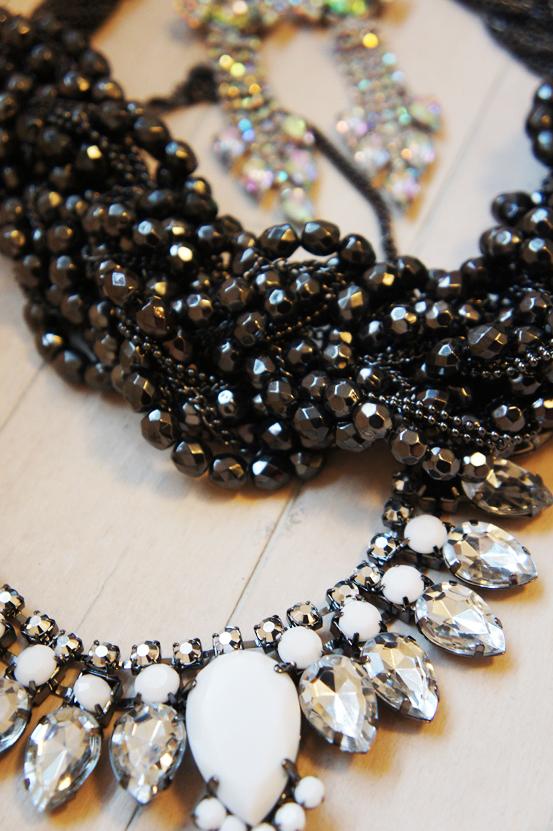 stor chunky halskæde, pieces necklace, pieces halskæde, hm halskæde, nye smykker