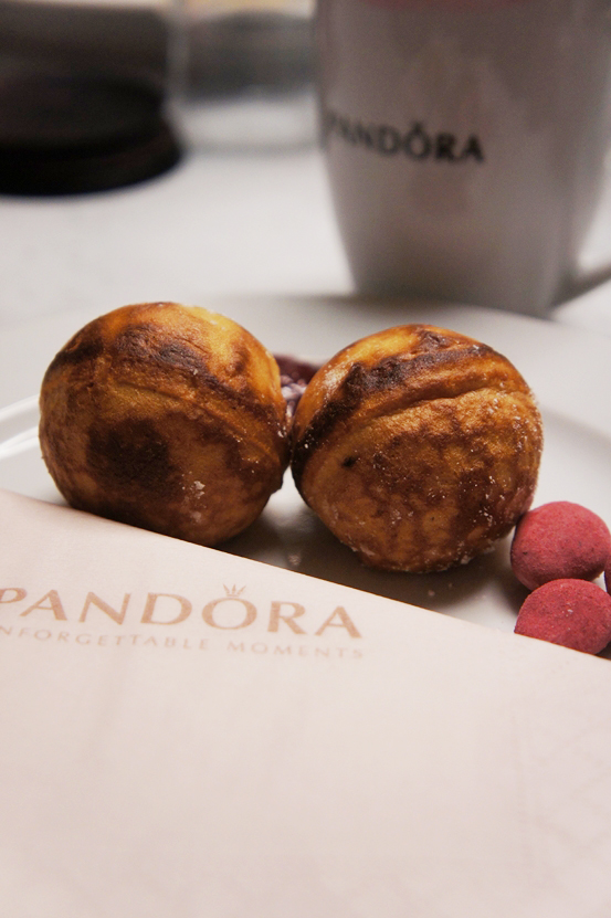 pandora event, pandora julehygge, pandora bloggerevent, æbleskiver