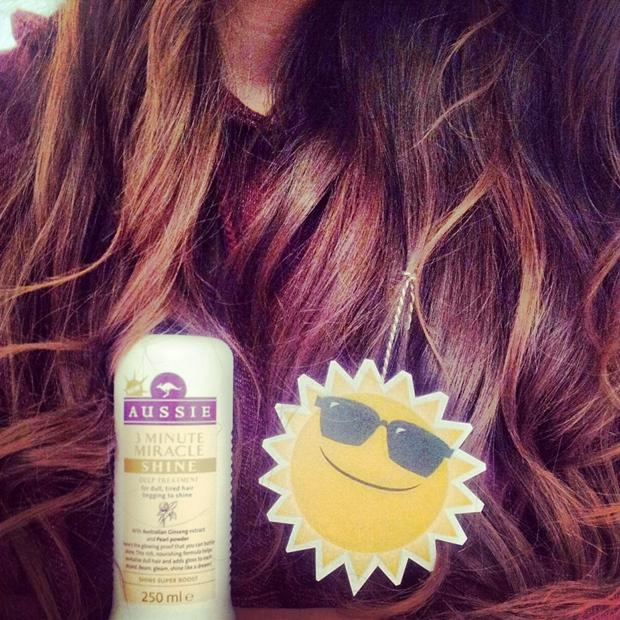 Aussie's nye hårserie Miracle Shine, aussie haircare, aussie Miracle Shine