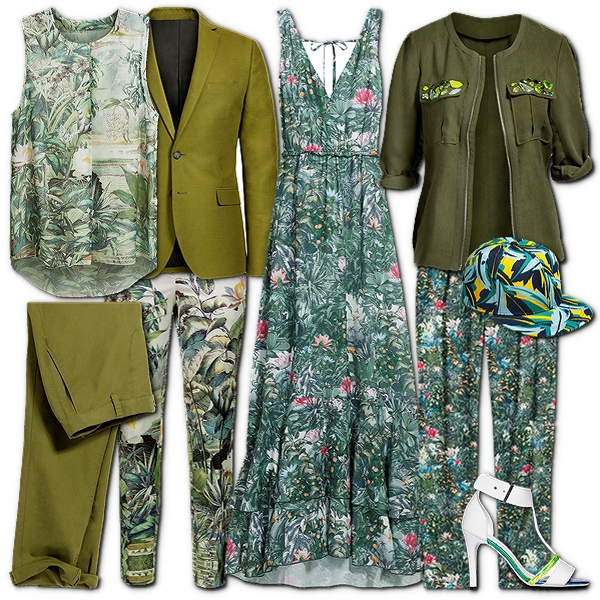 H&M Conscious-kollektion 2013, H&M Conscious collection, jungleprint, tropisk print