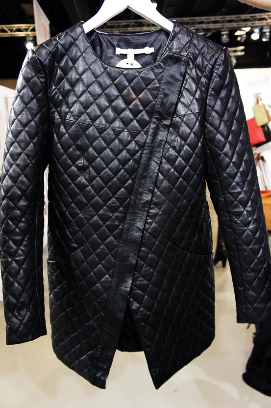 quiltet læderjakke, quilted leather jacket, meinLiebling aw13, meinliebling aw13