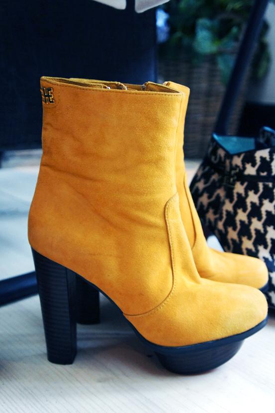 edith og ella, edith og ella sko, edith og ella støvler, edith ella boots, gule ruskindsstøvle, yellow suede bootsr