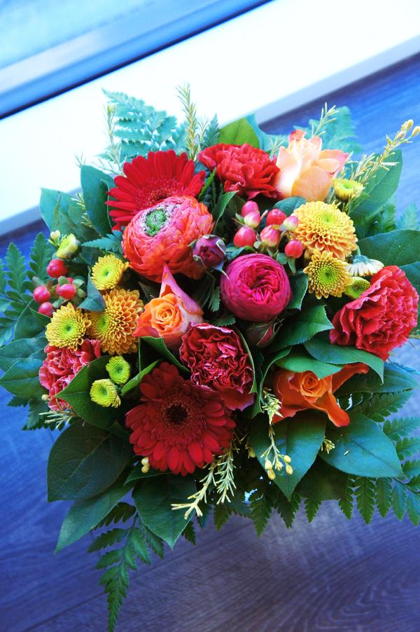 blomsterbuket, flowers