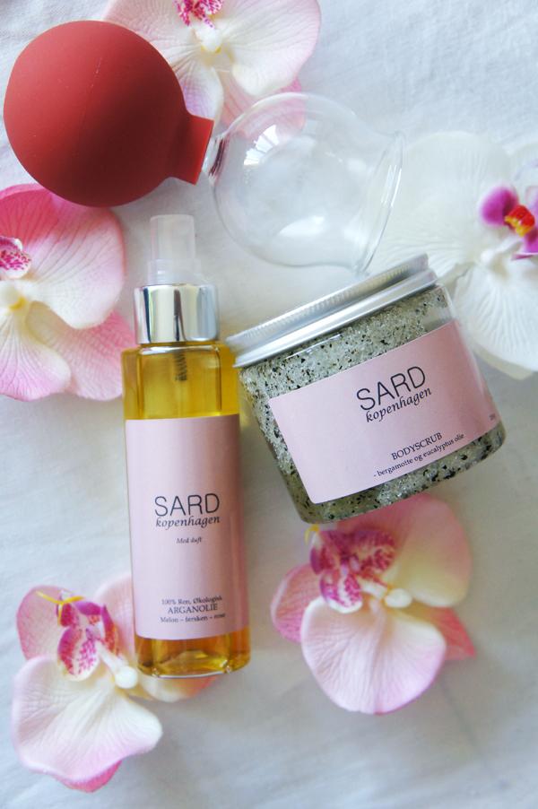 sard hudpleje, sard cph, Sugekop til Detoxbehandling,   SARD økologisk Arganolie med melon, sard body scrub Bergamotte