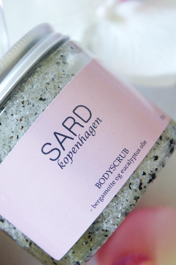 sard Bergamotte body scrub