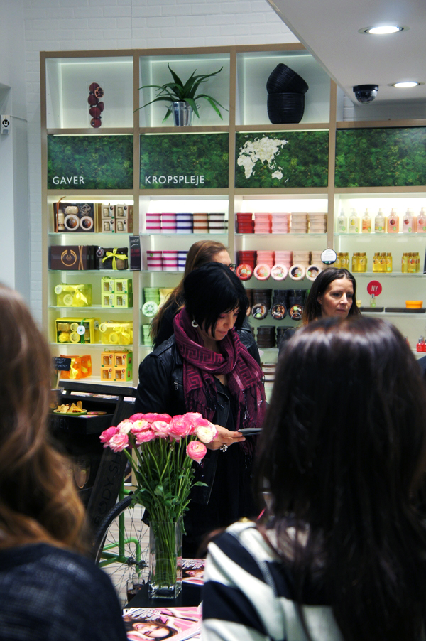 Leona Lewis VIP event hos The Body Shop