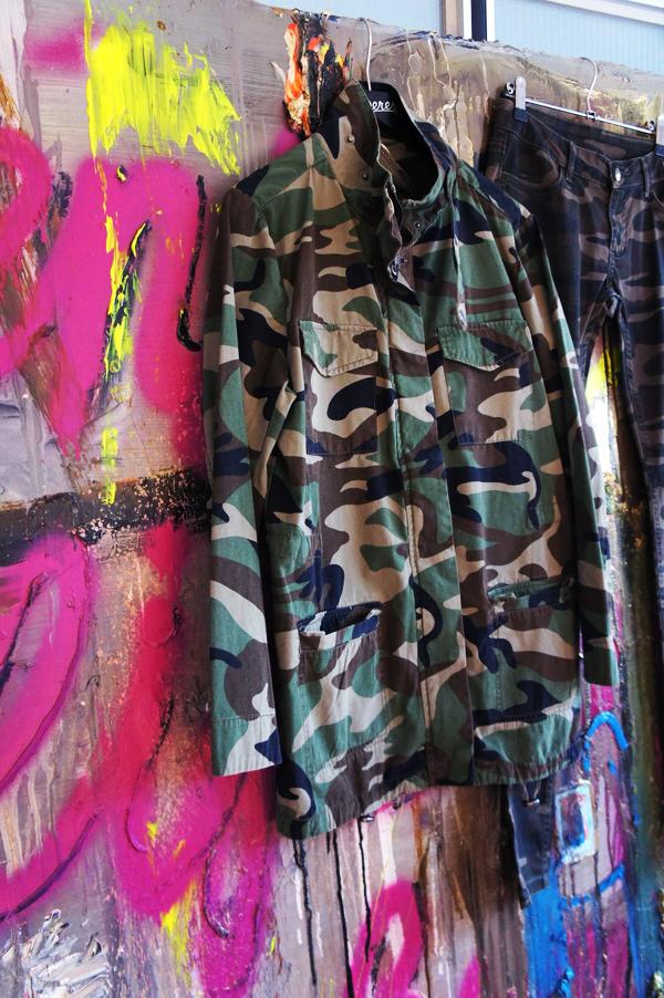 army jakke sparkz, army shirt, army deres