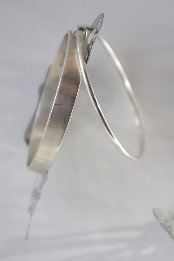 SATURN LIGHT, sølv armbånd, silver bracelet