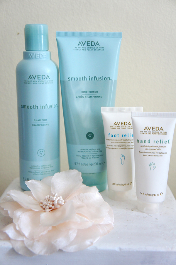 aveda Smooth Infusion Shampoo, aveda Smooth Infusion Conditioner, aveda hårpleje, aveda produkter