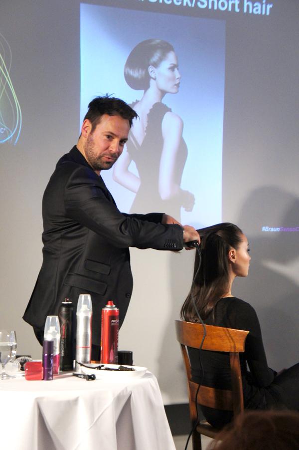 braun sensocare nimb, nimb braun event, sascha breuer, sascha breuer hair stylist