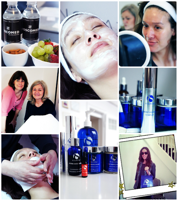 iS CLINICAL Fire & Ice Facial Treatment , red carpet treatment, iS CLINICAL