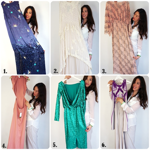 danish beauty award kjole, >H&M consious hvid blondekjole, grøn palliet kjole asos, green sequin dress asos, white lace dress h&M consious collection, what dress to wear