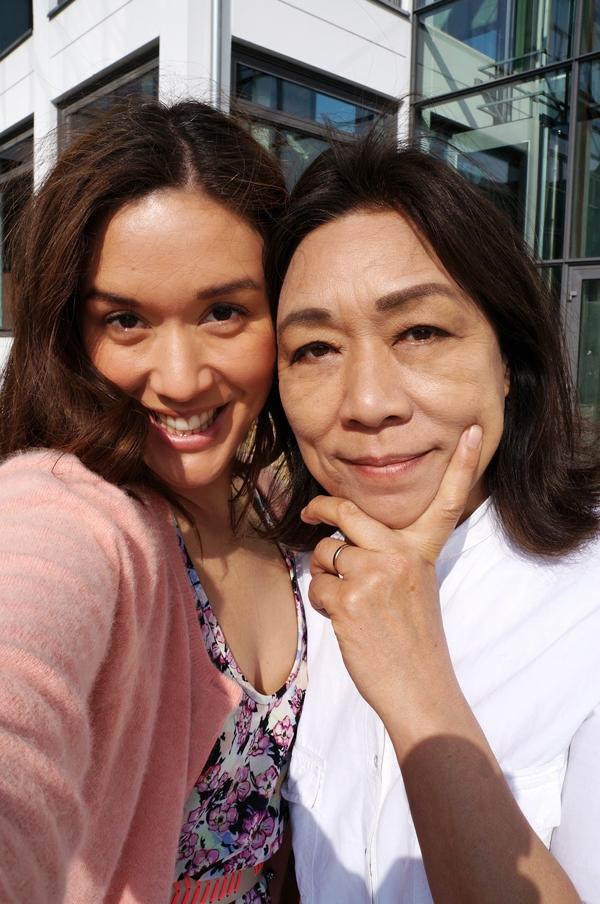 morsdag, mor og datter, halv japaner, japansk mor