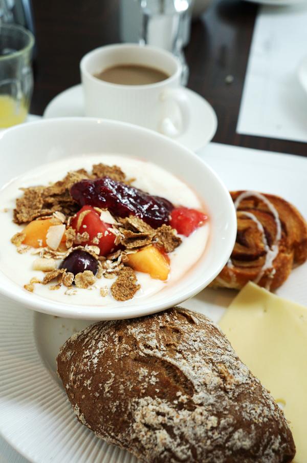 morgenmad Copenhagen Island Hotel, breakfast Copenhagen Island Hotel, The Harbour