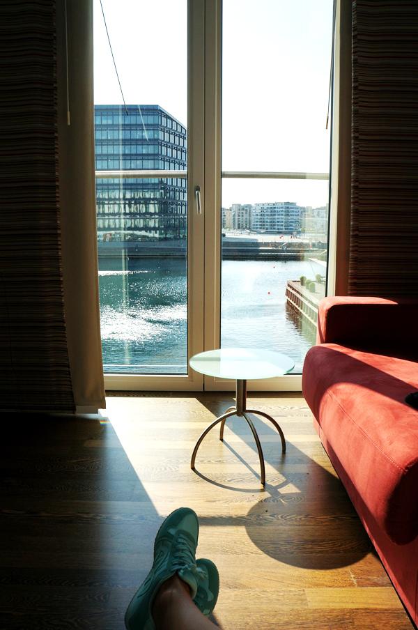 Copenhagen Island Hotel udsigt til vandet, Copenhagen Island Hotel water view