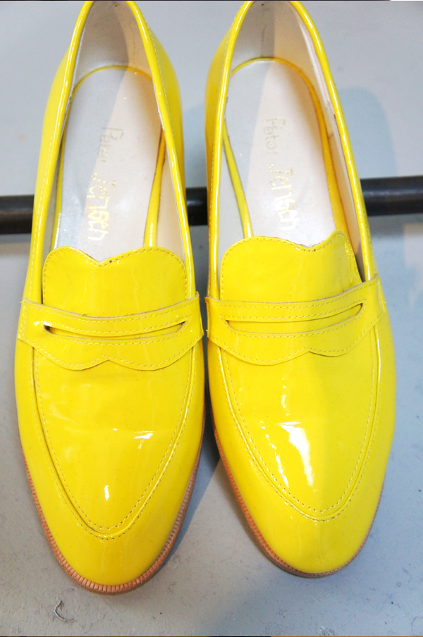 peter jensen, peter jensen yellow shoes, peter jensen gule sko, peter jensen aw13