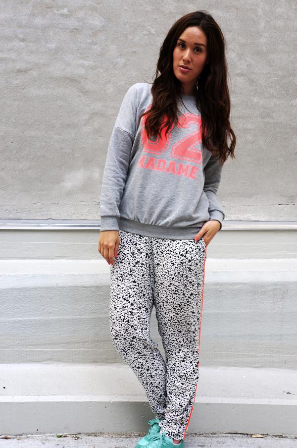 sparkz sweatshirt, sporty look , Sparkz Edma Madame